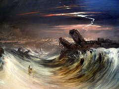 The Destruction of Tyre by John Martin